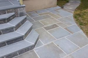 Photo #18: Custom Landscape And Construction, LLC. Unilock walls and patios