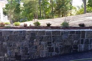 Photo #20: Custom Landscape And Construction, LLC. Unilock walls and patios