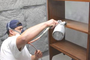 Photo #3: Professionally Painted Cabinets by MegMade