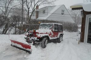 Photo #1: Snow Removal Plowing/ Shoveling