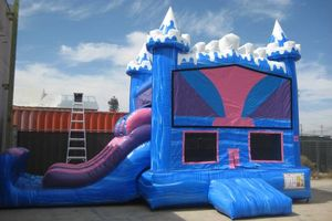 Photo #1: JUMPERS, WATER/DRY SLIDES, POPCORN, COTTON CANDY, CHAIRS TABLES & MORE