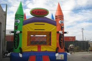 Photo #2: JUMPERS, WATER/DRY SLIDES, POPCORN, COTTON CANDY, CHAIRS TABLES & MORE