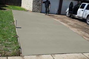 Photo #1: HIRE THE REAL CONCRETE GUYS AND NOT THE ONES WHO SCHEME FOR QUICK $$$