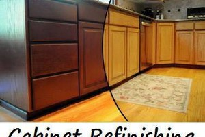 Photo #7: Kitchen cabinet refinishing