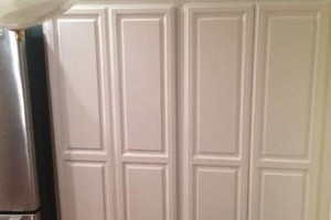 Photo #4: Kitchen cabinet refinishing
