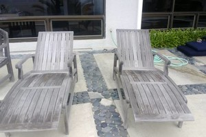 Photo #5: TEAK FURNITURE REFINISHING PRO