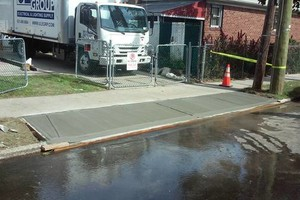 Photo #1: Concrete Sidewalk/Driveway-repair/replace. (Violations Removed)