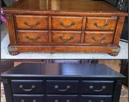 Photo #3: Furniture wood refinishing, fix, repair antique piano