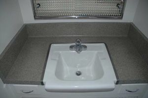 Photo #3: Countertop Re-Finishing to Stone Effect Bathtub Refinishing