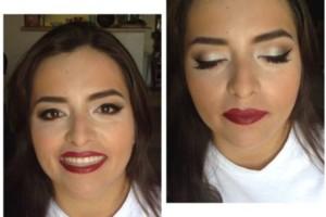 Photo #1: Makeup artist - $50 includes false eyelashes