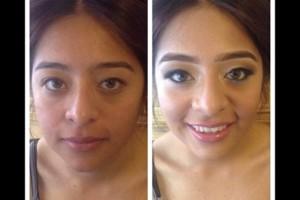 Photo #2: Makeup artist - $50 includes false eyelashes