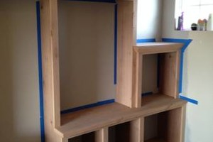 Photo #3: Skilled Finish  Land Crafted Carpentry - Built-ins - Credenzas - Kitchen Cabinets