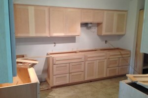 Photo #1: Skilled Finish  Land Crafted Carpentry - Built-ins - Credenzas - Kitchen Cabinets