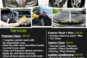 Photo #1: Mobile Detailer $60 Premium Clean Today!!