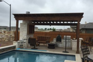 Photo #1: Decks, patio covers, pergolas, siding!