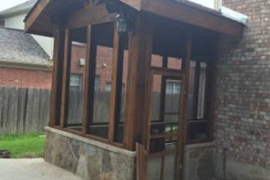 Photo #3: Decks, patio covers, pergolas, siding!