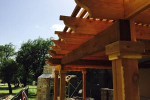 Photo #7: Decks, patio covers, pergolas, siding!