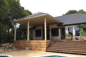 Photo #13: Decks, patio covers, pergolas, siding!