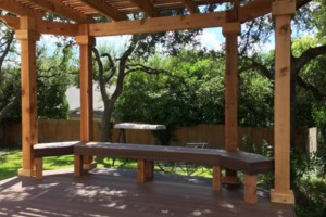 Photo #14: Decks, patio covers, pergolas, siding!