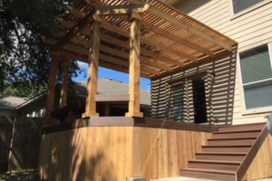 Photo #15: Decks, patio covers, pergolas, siding!