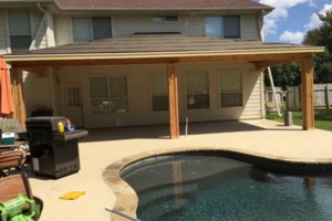 Photo #17: Decks, patio covers, pergolas, siding!