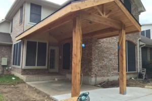 Photo #21: Decks, patio covers, pergolas, siding!