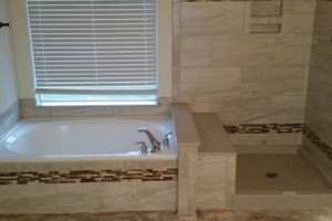 Photo #1: FLOORS!! SHOWERS!! QUALITY TILE INSTALLATION!!