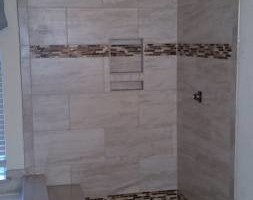 Photo #2: FLOORS!! SHOWERS!! QUALITY TILE INSTALLATION!!