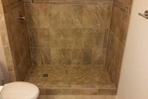 Photo #3: FLOORS!! SHOWERS!! QUALITY TILE INSTALLATION!!