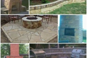 Photo #1: Outdoor Fireplaces, Patios, Flower beds, Masonry Stone and Brick