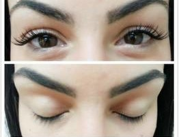 Photo #6: Individual lashes and FREE eyebrow fill in