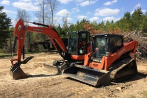 Photo #1: Skid Steer, Bobcat, Excavator, Dirt Work, Site Prep, Etc.