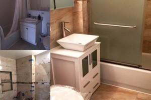 Photo #6: Bathroom & Kitchen profesional tile installation