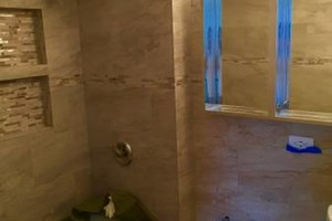 Photo #2: Bathroom & Kitchen profesional tile installation