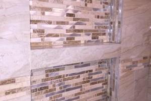 Photo #1: Bathroom & Kitchen profesional tile installation