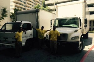 Photo #1: Mover service by Robert + freghtliners 14ft to 26ft box trucks.
