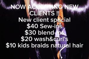 Photo #1: $45 Professional Sew In SPECIAL