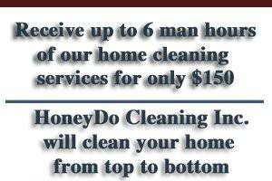 Photo #2: HoneyDo Cleaning, Inc. Housekeeping