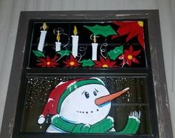 Photo #11: Holiday window painting