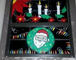 Photo #10: Holiday window painting