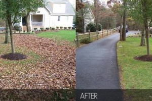 Photo #1: Vottero Landscape. Schedule Your FALL LEAF CLEANUPS Today... Professional & Affordable!