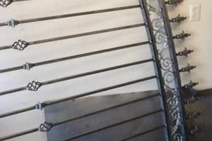 Photo #5: Gates, fences, doors, wrought iron custom work!