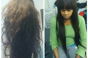 Photo #2: Braids, sew in, locs, eyelashes for cheap!