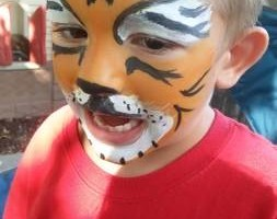 Photo #1: To The Moon & Back. FACE PAINTING