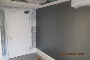 Photo #2: EXCEPTIONAL PAINTER - caulking patching plaster repair, wallpaper removal and install new