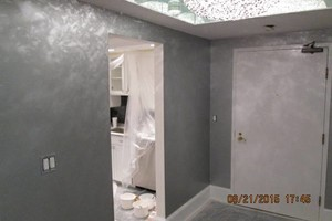Photo #3: EXCEPTIONAL PAINTER - caulking patching plaster repair, wallpaper removal and install new