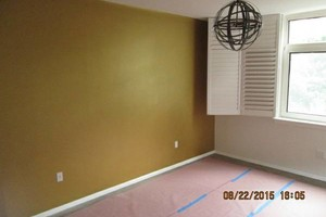 Photo #5: EXCEPTIONAL PAINTER - caulking patching plaster repair, wallpaper removal and install new
