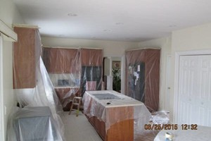 Photo #12: EXCEPTIONAL PAINTER - caulking patching plaster repair, wallpaper removal and install new