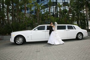 Photo #2: Phantom Rolls Royce limo or SUV's limo 4 ur wedding or any event (anyw