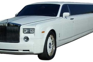 Photo #1: Phantom Rolls Royce limo or SUV's limo 4 ur wedding or any event (anyw